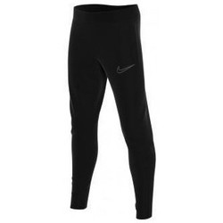 Clothing Children Tracksuit bottoms Nike PANTALÓN CHANDAL NEGRO UNISEX  CW6124 Black
