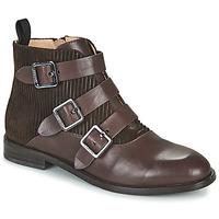 Shoes Women Mid boots JB Martin XALON White / yellow / grey