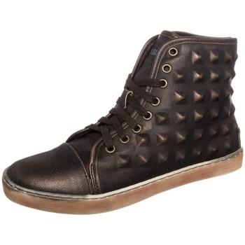 Shoes Women Hi top trainers Cassis Côte d'Azur Baskets Belonie Bronze Gold