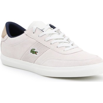 Shoes Men Low top trainers Lacoste Court-Master 418 1 CAM 7-36CAM0015-WN8 beige