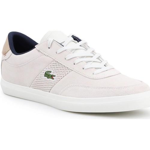 Shoes Men Low top trainers Lacoste Court-Master 418 1 CAM 7-36CAM0015-WN8 beige