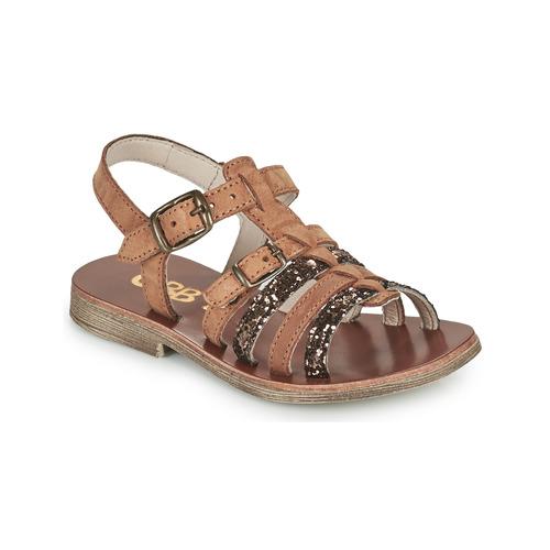 Shoes Girl Sandals GBB BANGKOK Brown