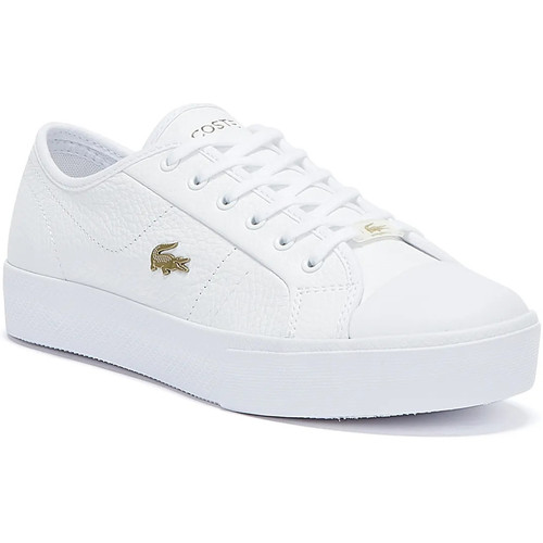Shoes Women Fitness / Training Lacoste Ziane Plus Grand 721 1 Womens White / White Trainers White