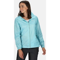 Clothing Women Parkas Regatta CORINNE IV Waterproof Shell Jacket Seal Grey Blue Blue