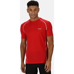 Clothing Men Short-sleeved t-shirts Regatta TORNELL II TShirt Nightfall Navy Red Red