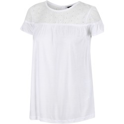 Clothing Women Short-sleeved t-shirts Regatta ABITHA TShirt Navy White White