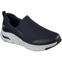 Shoes Men Slip-ons Skechers Arch Fit Banlin Mens Slip On Trainers blue