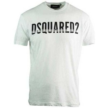 Clothing Men Short-sleeved t-shirts Dsquared S74GD0577S21600_100white white