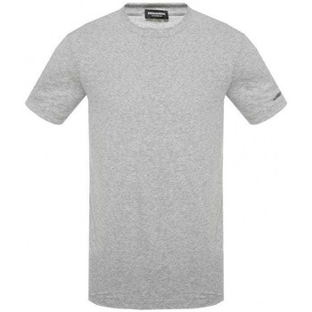 Clothing Men Short-sleeved t-shirts Dsquared D9M202290_220grey grey