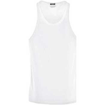 Clothing Men Tops / Sleeveless T-shirts Dsquared D9D202270_110white white