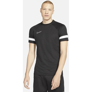 Clothing Men Long-sleeved shirts Nike CAMISETA FÚTBOL MANGA CORTA HOMBRE  CW6101 Black