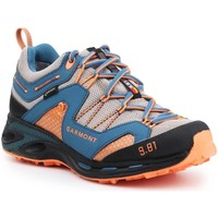 Shoes Men Walking shoes Garmont 9.81 Trail Pro III GTX 481221-211 blue, orange, grey
