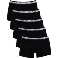 Underwear Men Boxer shorts Gant 5 Pack Basic Trunks black