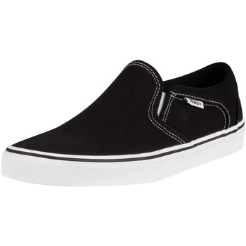 Shoes Men Slip-ons Vans Asher Canvas Trainers black