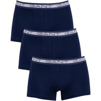 Underwear Men Boxer shorts Gant 3 Pack Basic Trunks blue