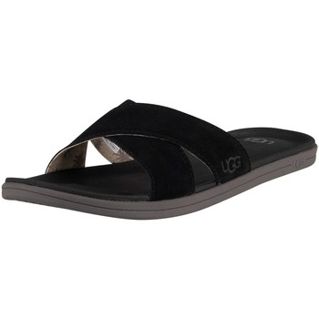 Shoes Men Flip flops UGG Brookside Sliders black