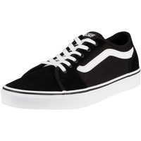 Shoes Men Fitness / Training Vans Filmore Decon Suede Canvas Trainers black