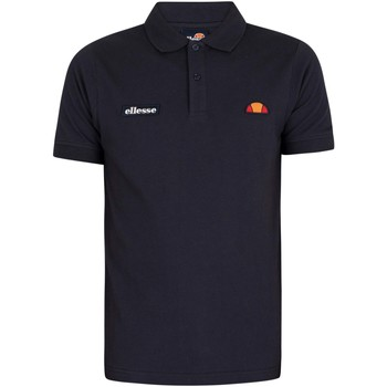 Clothing Men Short-sleeved polo shirts Ellesse Montura Polo Shirt blue