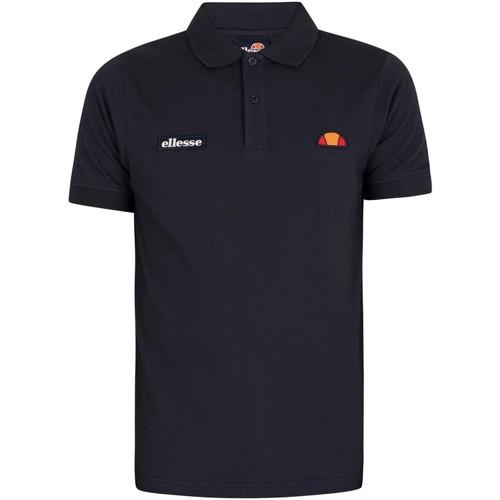 Clothing Men Short-sleeved polo shirts Ellesse Montura Polo Shirt blue