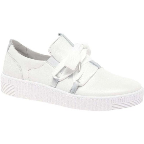 Shoes Women Low top trainers Gabor Waltz Womens Casual Trainers white