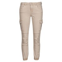Clothing Women Cargo trousers Only ONLMISSOURI Beige