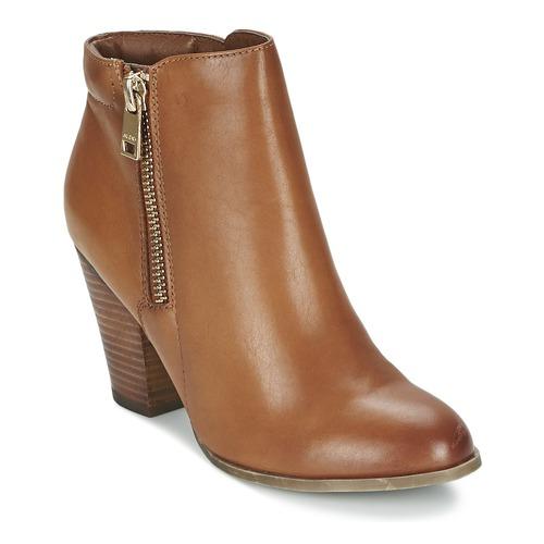 Shoes Women Ankle boots Aldo JANELLA Cognac