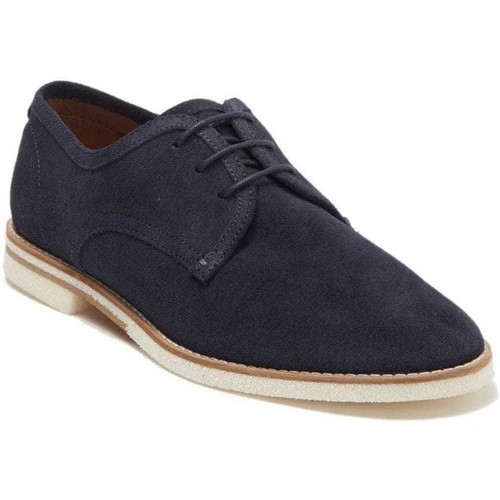 Shoes Men Derby Shoes Hudson AGADIRSUEDE_navyblue blue