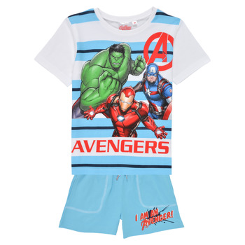 Clothing Boy Sets & Outfits TEAM HEROES  AVENGERS SET Multicolour
