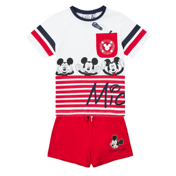 Clothing Boy Sets & Outfits TEAM HEROES  MICKEY SET Multicolour