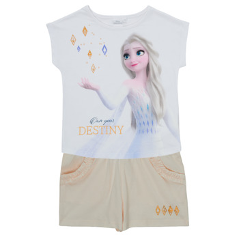 Clothing Girl Sets & Outfits TEAM HEROES  FROZEN SET Multicolour
