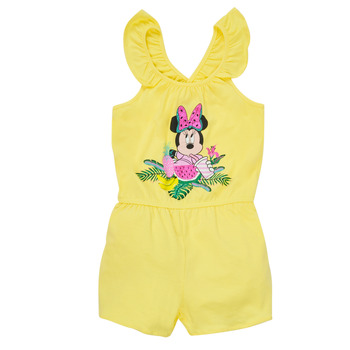 Clothing Girl Jumpsuits / Dungarees TEAM HEROES  MINNIE JUMPSUIT Yellow