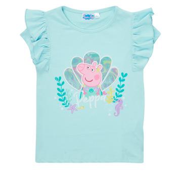 Clothing Girl Short-sleeved t-shirts TEAM HEROES  PEPPA PIG TEE Blue
