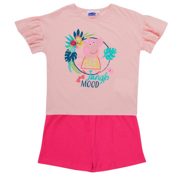 Clothing Girl Sets & Outfits TEAM HEROES  PEPPA PIG SET Multicolour