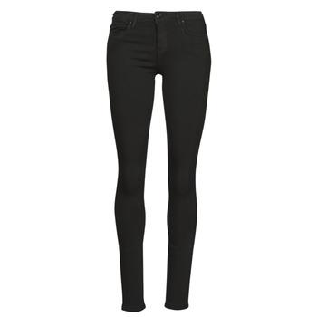 Clothing Women Slim jeans Only ONLCARMEN Black