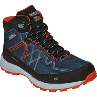 Shoes Men Boots Regatta SAMARIS LITE Walking Boots Black Dark Steel Blue Blue