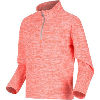 Clothing Children Fleeces Regatta SHAY Half-Zip Fleece Navy Marl Orange Orange
