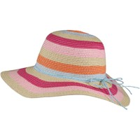 Clothes accessories Children Hats Regatta MAYLA Straw Hat Multi Stripe Multi Multi