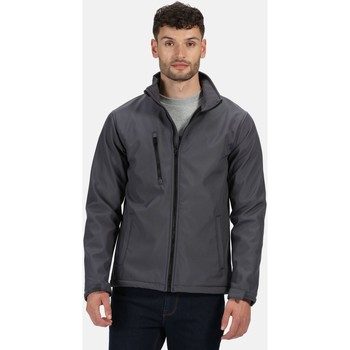 Clothing Men Jackets Professional ABLAZE Waterproof Softshell Jacket Grey
