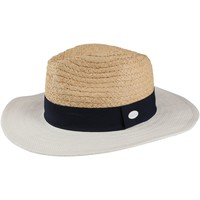 Clothes accessories Women Hats Regatta MARSA Straw Hat Calico Cream Navy White Cream Cream