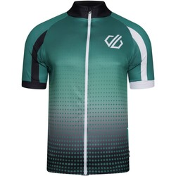 Clothing Men T-shirts & Polo shirts Dare 2b Virtuosity Short Sleeved AEP Jersey Green Green