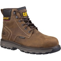 Shoes Men Boots Caterpillar CT031B Precision Dark Brown