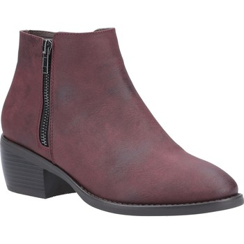 Shoes Mid boots Divaz Ruby Burgundy