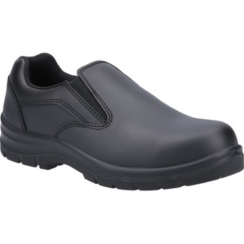Shoes Men Loafers Amblers Safety AS716C Black
