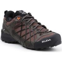 Shoes Men Walking shoes Salewa Trekking shoes  MS Wildfire GTX 63487-7623 brown, black