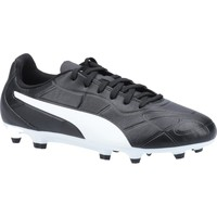 Shoes Children Football shoes Puma 10572501-3 Monarch FG Jr Black and White