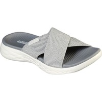 Shoes Mules Skechers 16259-SIL-030 On the GO 600 Glistening Silver