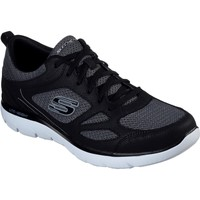 Shoes Men Fitness / Training Skechers 52812-BKW-060 Summits South Rim Black and White