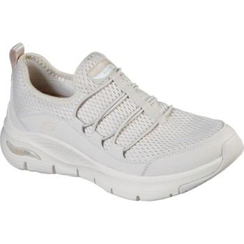 Shoes Women Walking shoes Skechers 149056-NAT-030 Arch Fit Lucky Thoughts Natural