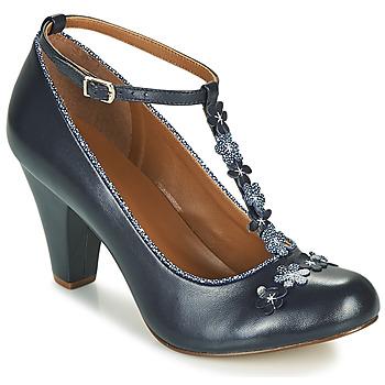 Shoes Women Heels Cristofoli JULY Blue