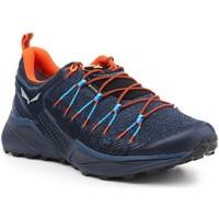 Shoes Men Walking shoes Salewa MS Dropline GTX 61366-8669 navy , orange, black